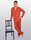 Пижама мужская с медной нитью и бамбуком
