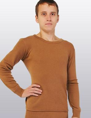 Фуфайка (термобелье) из верблюжьей шерсти, серия «Soft»