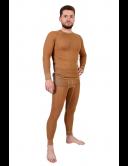 """Фуфайка (термо) мужская однослойная из верблюжьей шерсти на рост 170-176 см.  ТМ """"Chu-Ga-Da"""""""