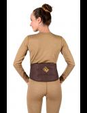 Пояс-корсет «Doctor Шунгит» из верблюжьей шерсти с шунгитовыми вставками