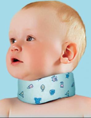 Бандаж на шейный отдел позвоночника (для детей до 1 года)