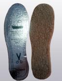 Стельки зимние из верблюжьего меха с подошвой-лавсан