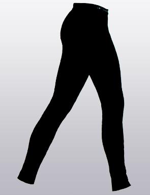 """Кальсоны женские (термобелье) """"ComfortStyle"""" из шерсти Мериноса и волокон Кофе"""