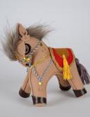 Лошадка из войлока