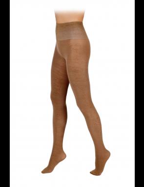 Колготки ажурные из верблюжьей шерсти с анатомической резинкой на поясе
