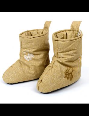 Сапожки Домашние (обувь домашняя) с наполнителем из верблюжьей шерсти и противоскользящей подошвой