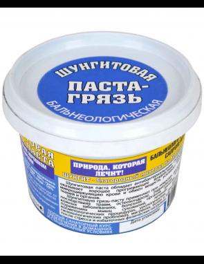 Паста-грязь лечебная с ШУНГИТОМ, объем 0,33 л