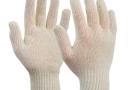 Перчатки ЗАЩИТНЫЕ одноразовые из ХЛОПКА белые