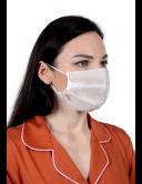Маска защитная, гигиеническая для лица, 4-слойная, одноразовая (упаковка 5 штук)